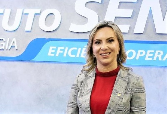 Cristhine Samorini is the new president of the Federation of Industries of Espírito Santo - Findes