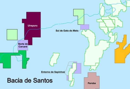 Acquired in the 4th Production Sharing Round by Petrobras, Uirapuru block has oil presence identified