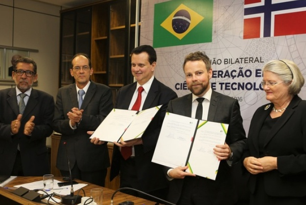 Brazil and Norway renew commitment to cooperation in scientific research