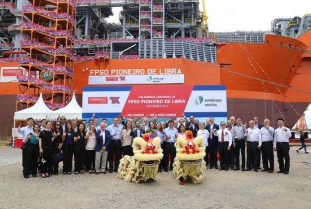 FPSO conversion: Libra FPSO is officially named