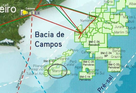 Sale of rights to Maromba field in Campos Basin:Disclosure of the teaser